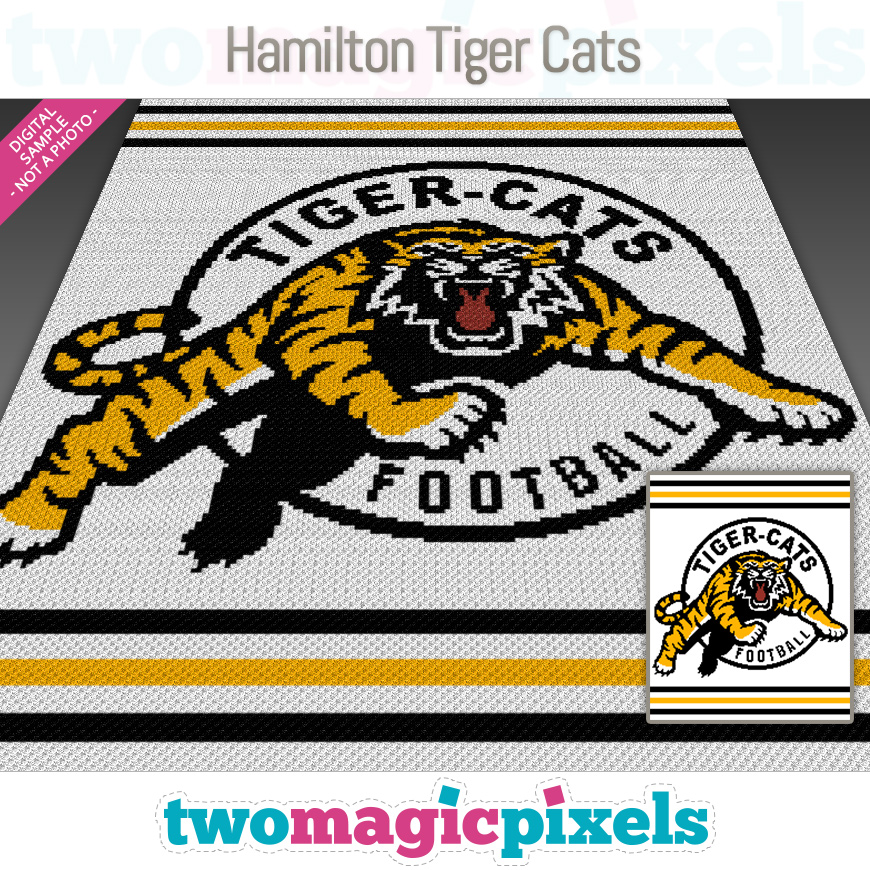 Hamilton Tiger-Cats by Two Magic Pixels