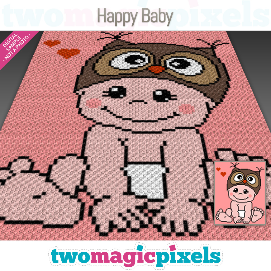 Happy Baby by Two Magic Pixels