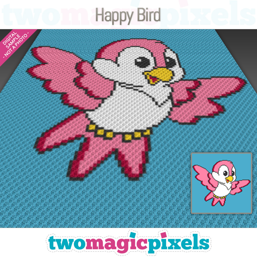 Happy Bird by Two Magic Pixels