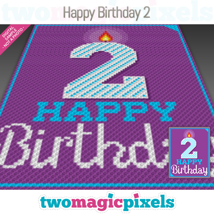 Happy Birthday 2 by Two Magic Pixels