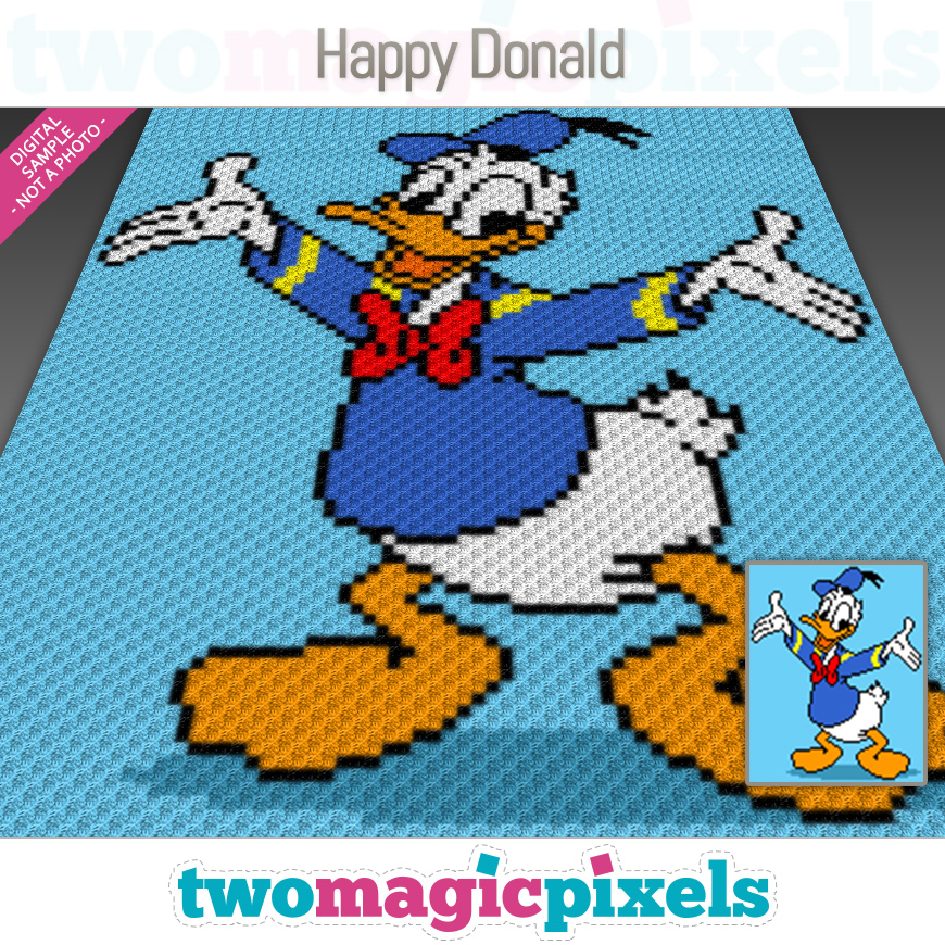 Happy Donald by Two Magic Pixels