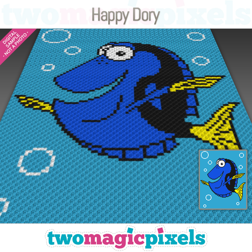 Happy Dory by Two Magic Pixels
