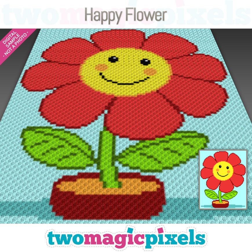 Happy Flower by Two Magic Pixels