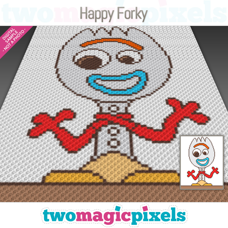 Happy Forky by Two Magic Pixels
