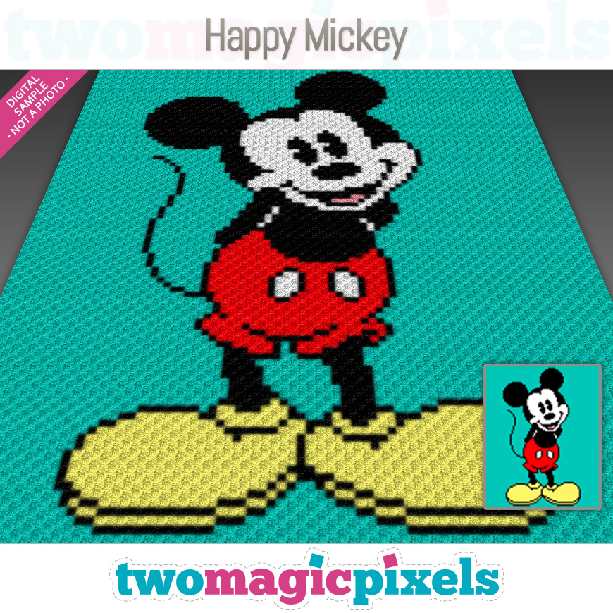 Happy Mickey by Two Magic Pixels
