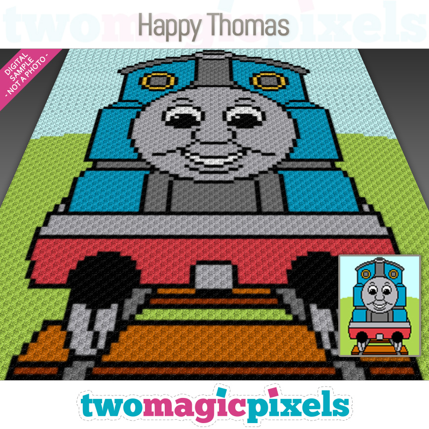 Happy Thomas by Two Magic Pixels