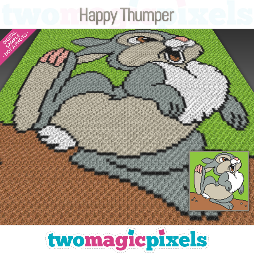 Happy Thumper by Two Magic Pixels