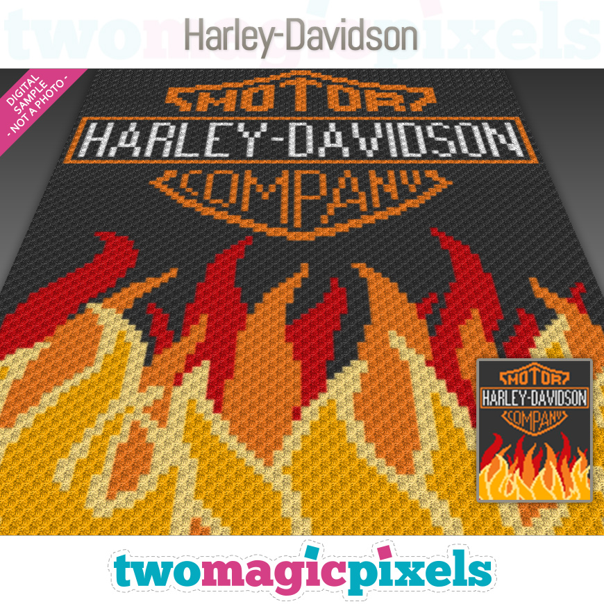 Harley-Davidson by Two Magic Pixels