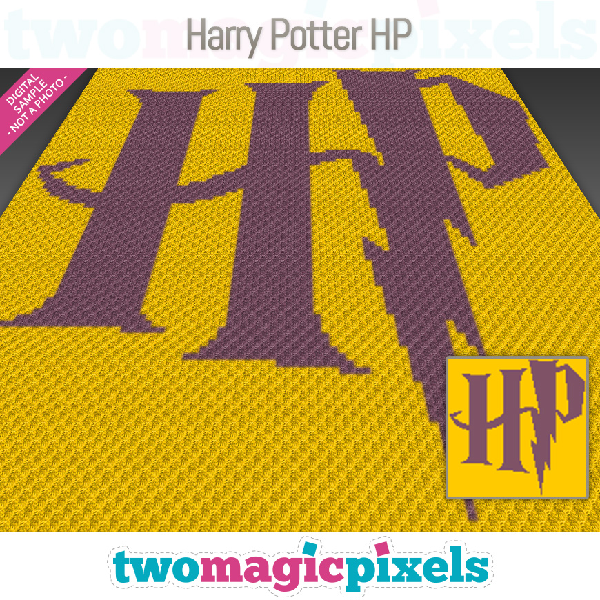 Harry Potter HP by Two Magic Pixels