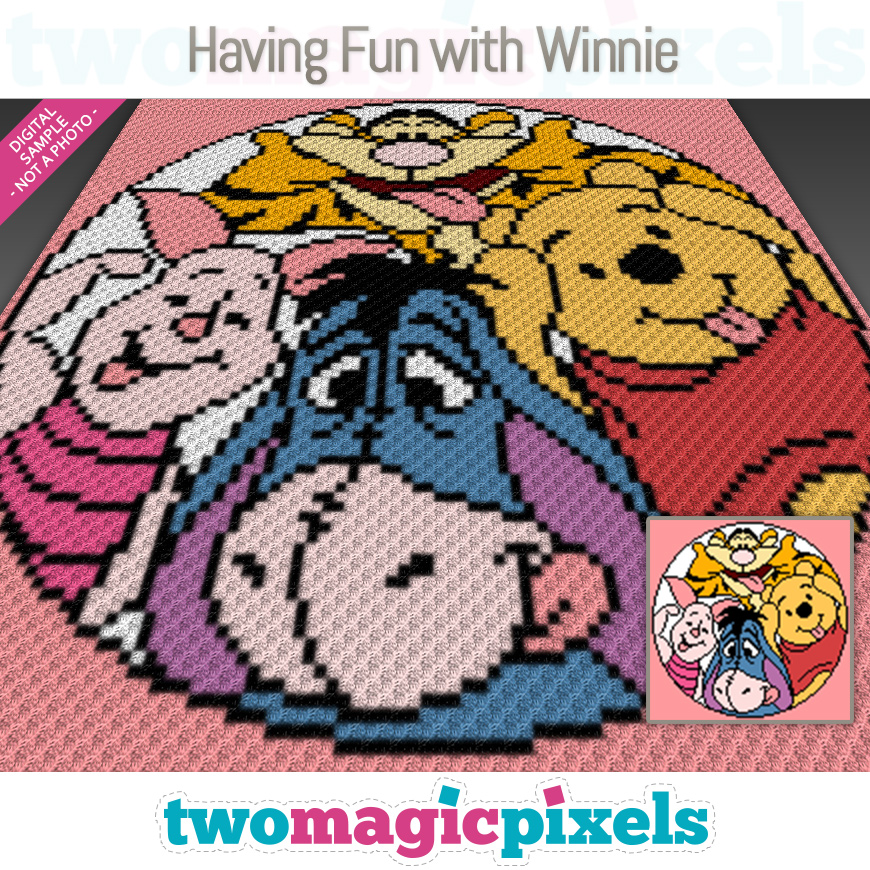 Having Fun with Winnie by Two Magic Pixels