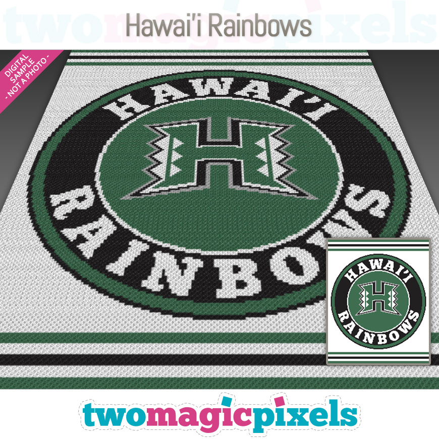 Hawai'i Rainbows by Two Magic Pixels