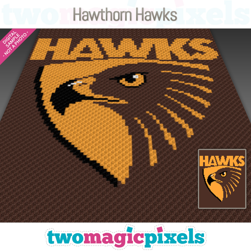 Hawthorn Hawks by Two Magic Pixels