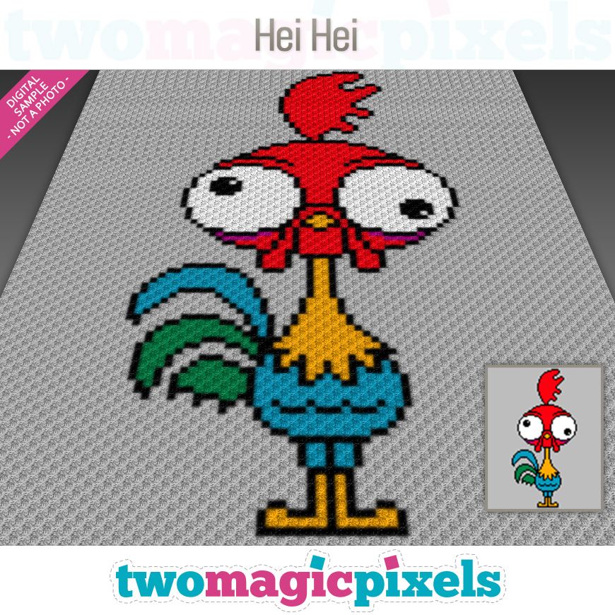 Hei Hei by Two Magic Pixels