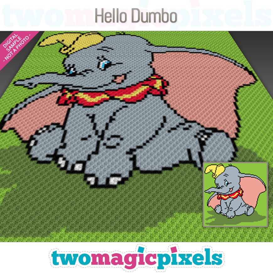 Hello Dumbo by Two Magic Pixels