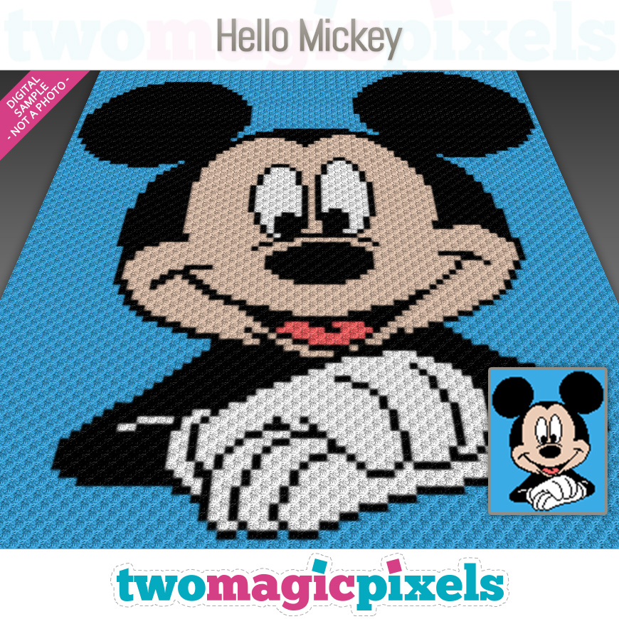 Hello Mickey by Two Magic Pixels