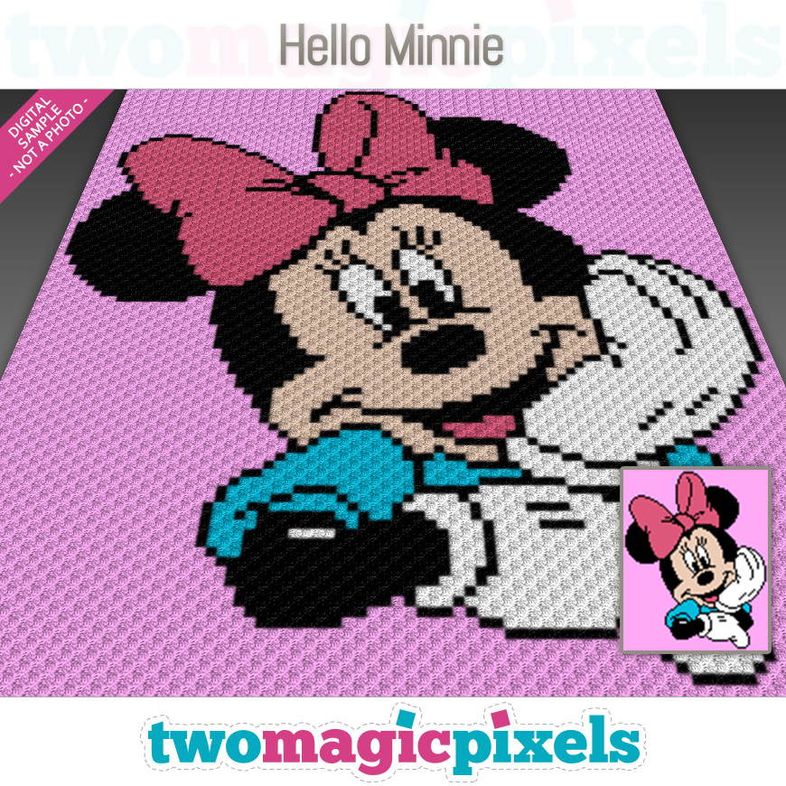 Hello Minnie by Two Magic Pixels