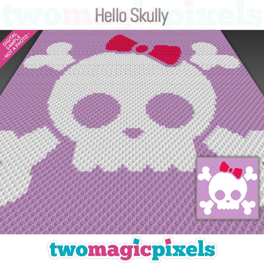 Hello Skully by Two Magic Pixels