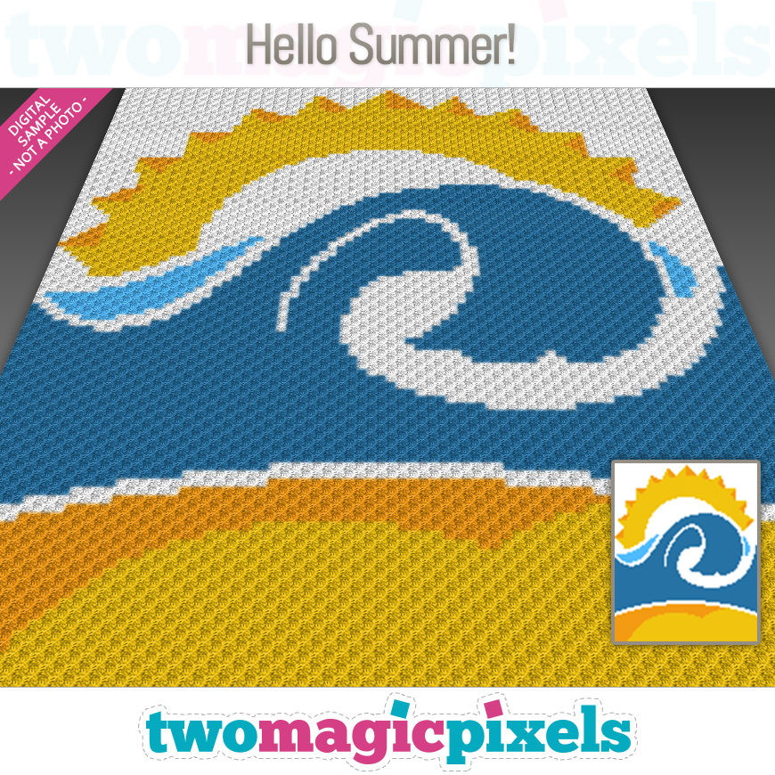 Hello Summer! by Two Magic Pixels