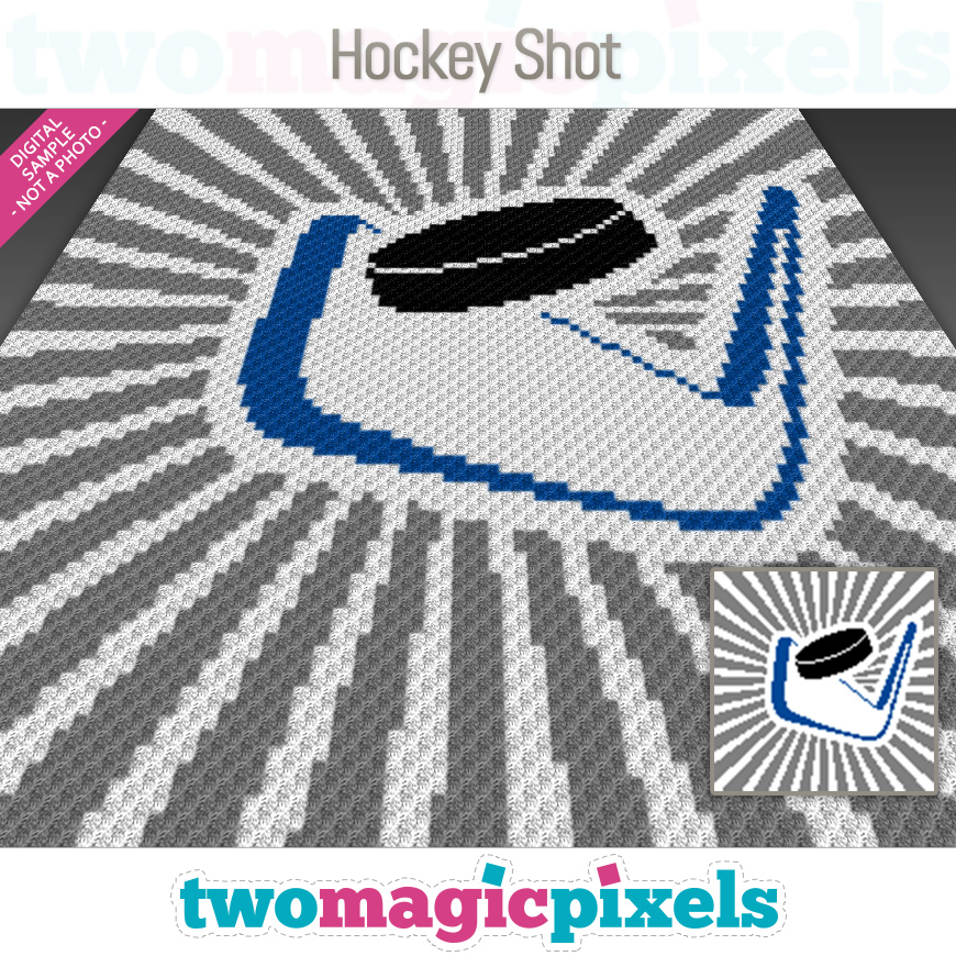 Hockey Shot by Two Magic Pixels
