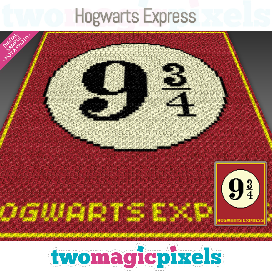 Hogwarts Express by Two Magic Pixels