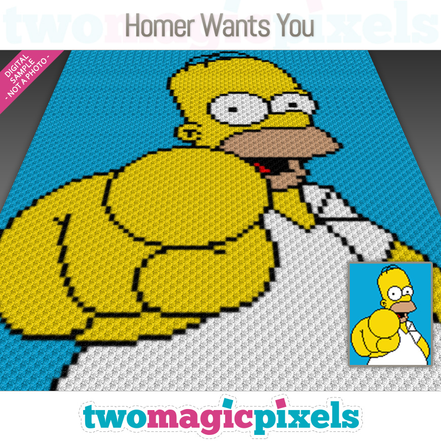 Homer Wants You by Two Magic Pixels