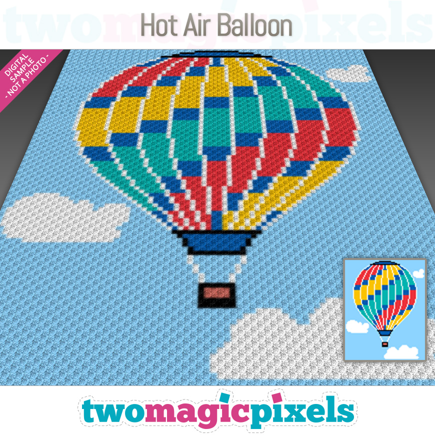 Hot Air Balloon by Two Magic Pixels