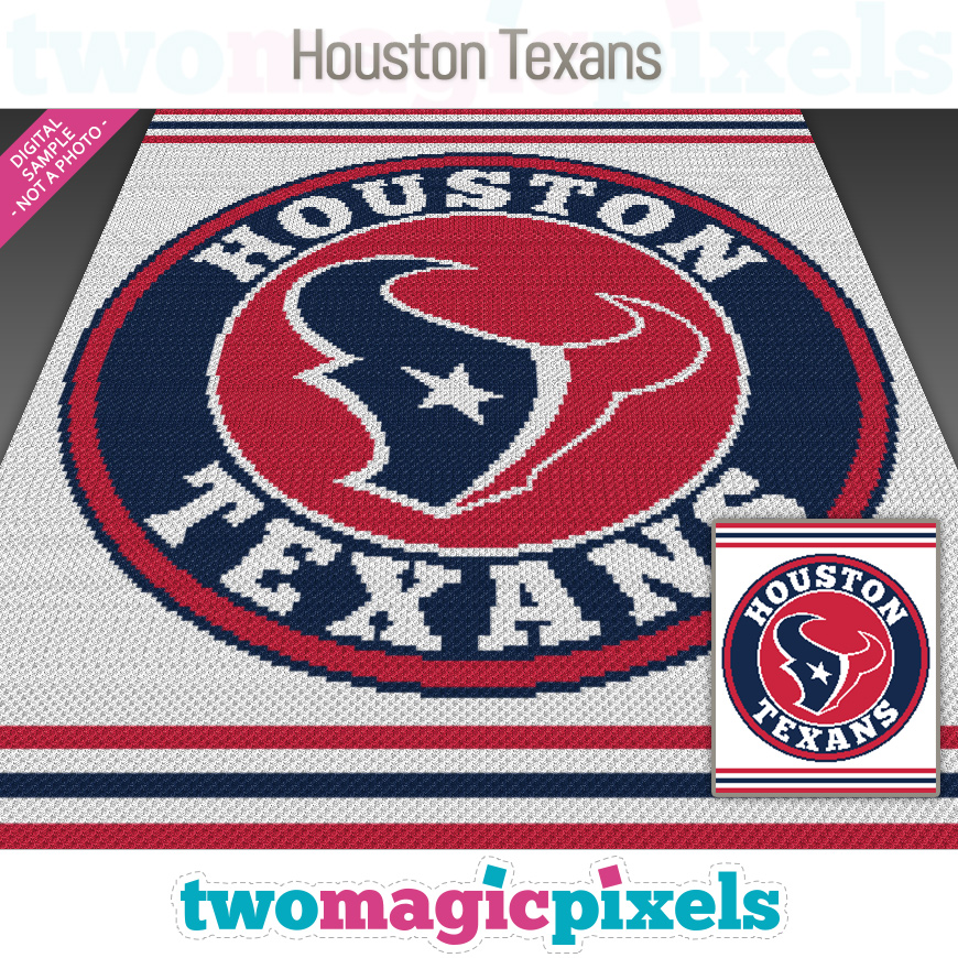 Houston Texans by Two Magic Pixels