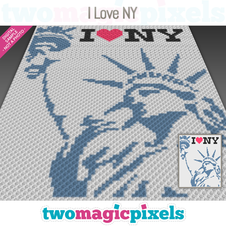 I Love New York by Two Magic Pixels