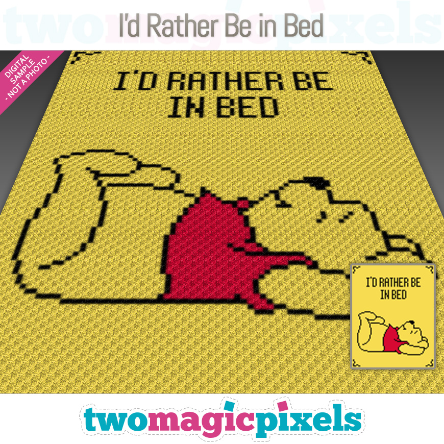 I'd Rather Be In Bed by Two Magic Pixels