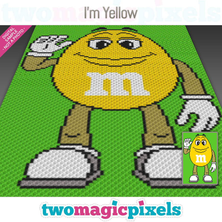 I'm Yellow by Two Magic Pixels