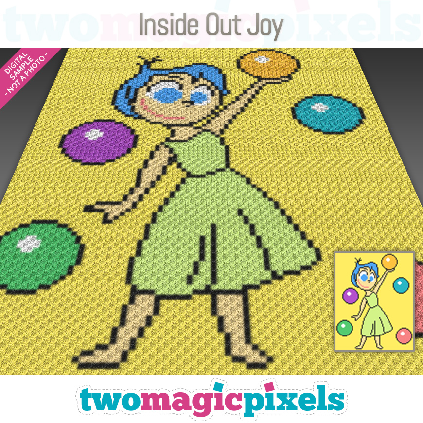 Inside Out Joy by Two Magic Pixels