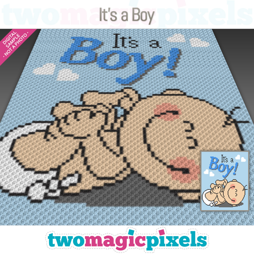 It's a Boy! by Two Magic Pixels