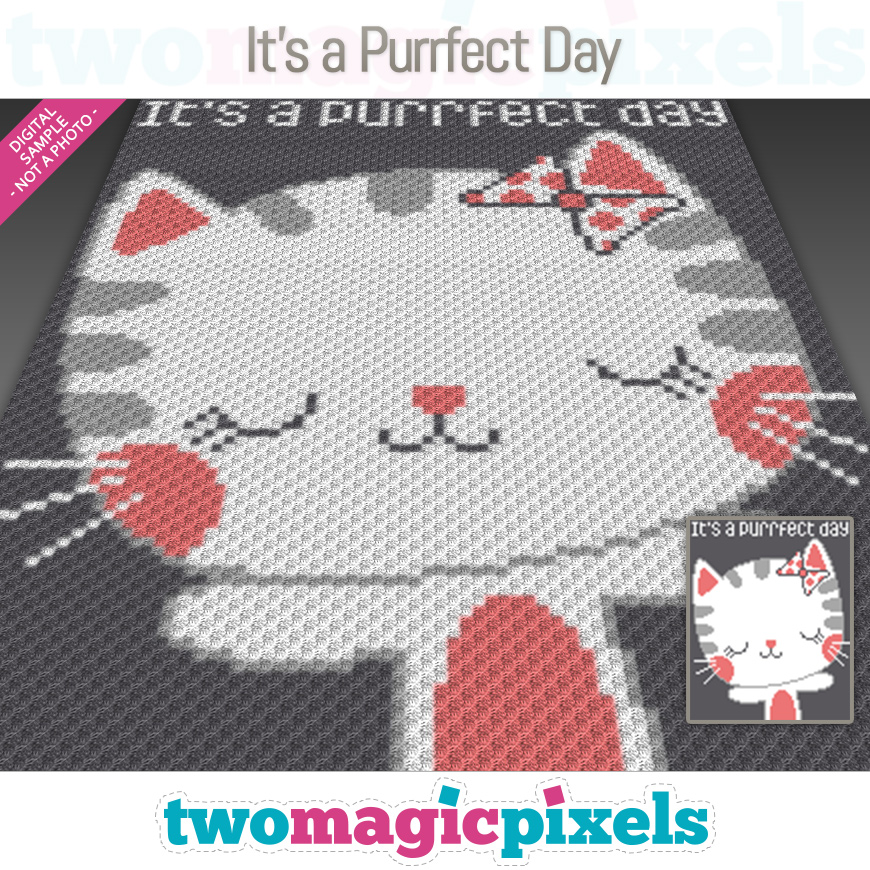 It's a Purrfect Day by Two Magic Pixels