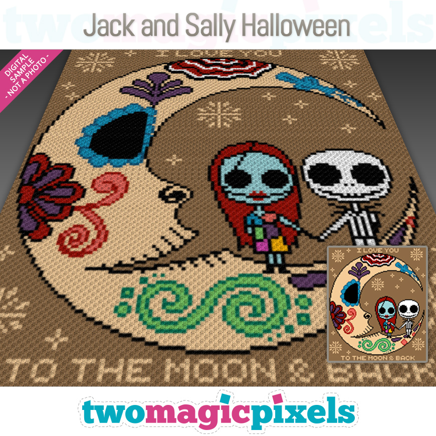 Jack and Sally Halloween by Two Magic Pixels