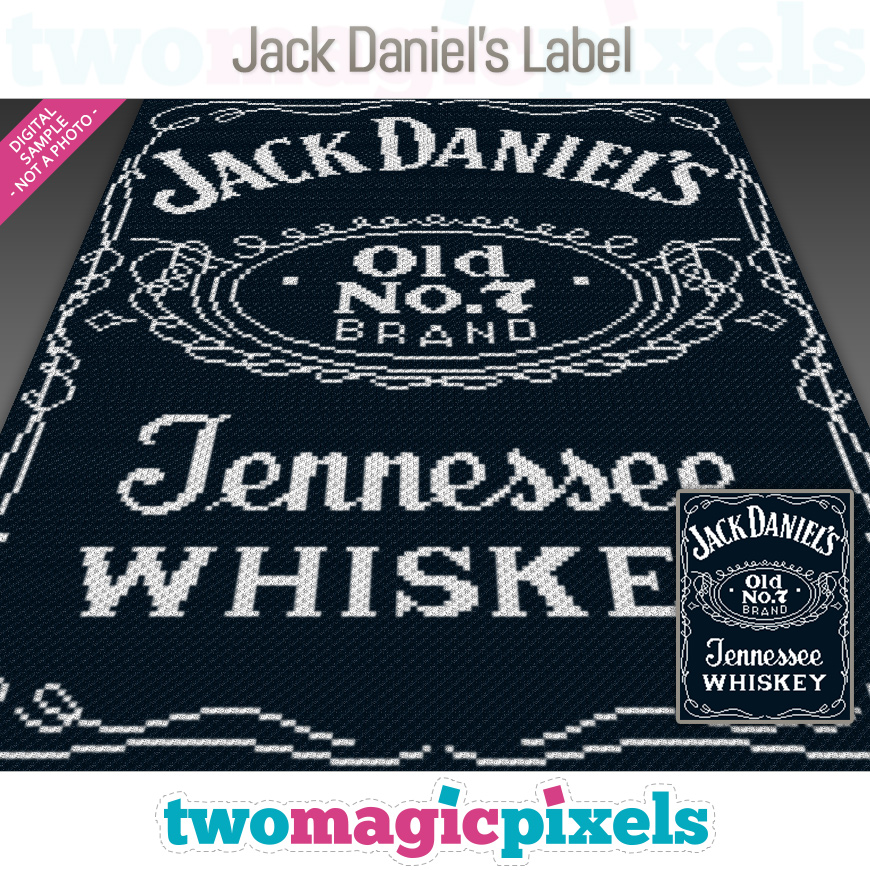 Jack Daniel's Label by Two Magic Pixels