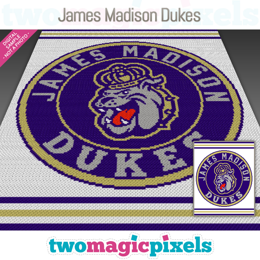 James Madison Dukes by Two Magic Pixels