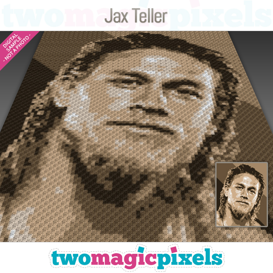 Jax Teller by Two Magic Pixels