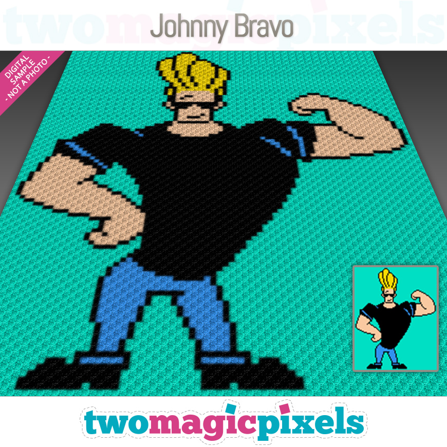 Johnny Bravo by Two Magic Pixels