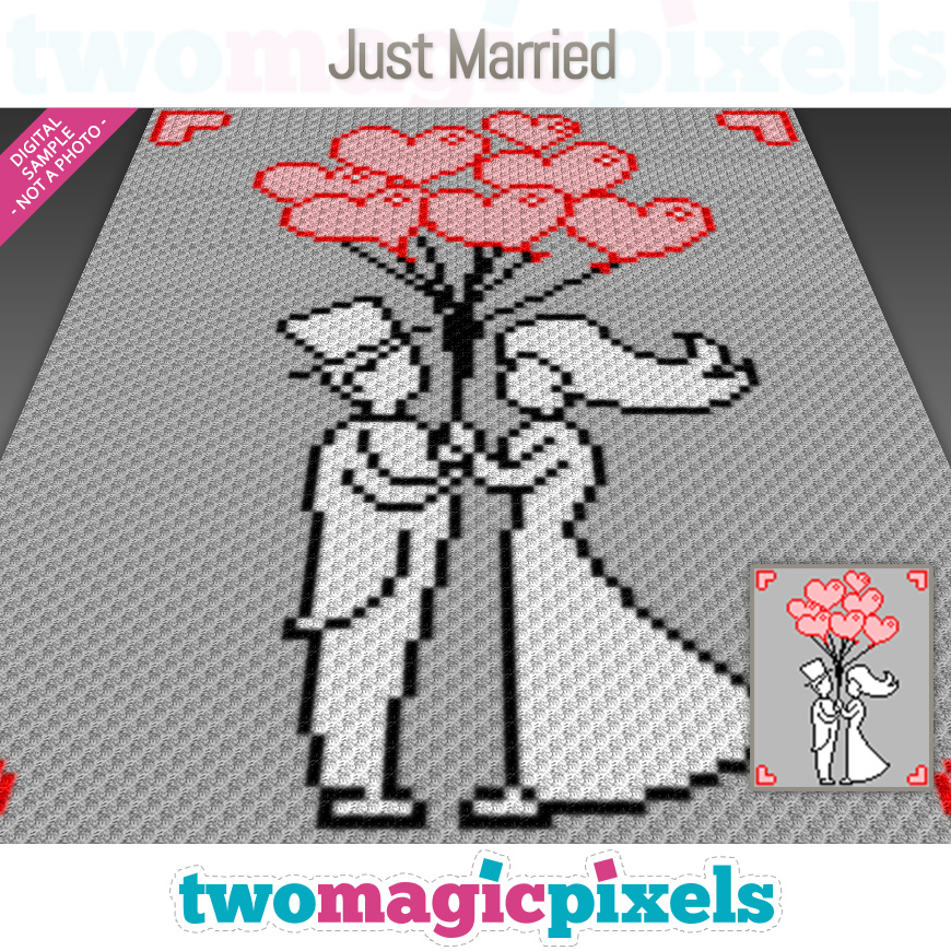 Just Married by Two Magic Pixels