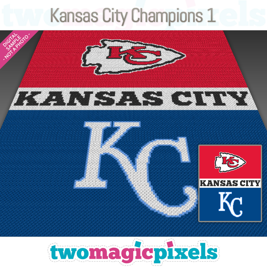 Kansas City Champions 1 by Two Magic Pixels