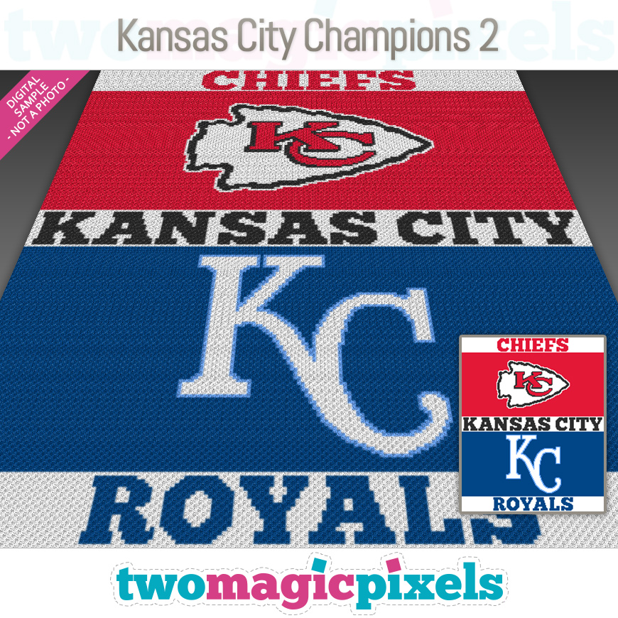 Kansas City Champions 2 by Two Magic Pixels