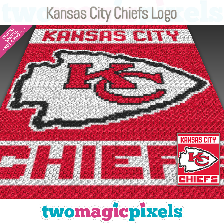Kansas City Chiefs Logo by Two Magic Pixels