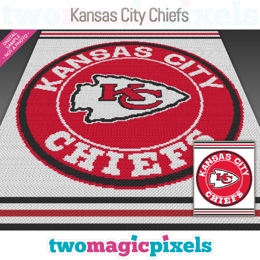 Kansas City Chiefs by Two Magic Pixels