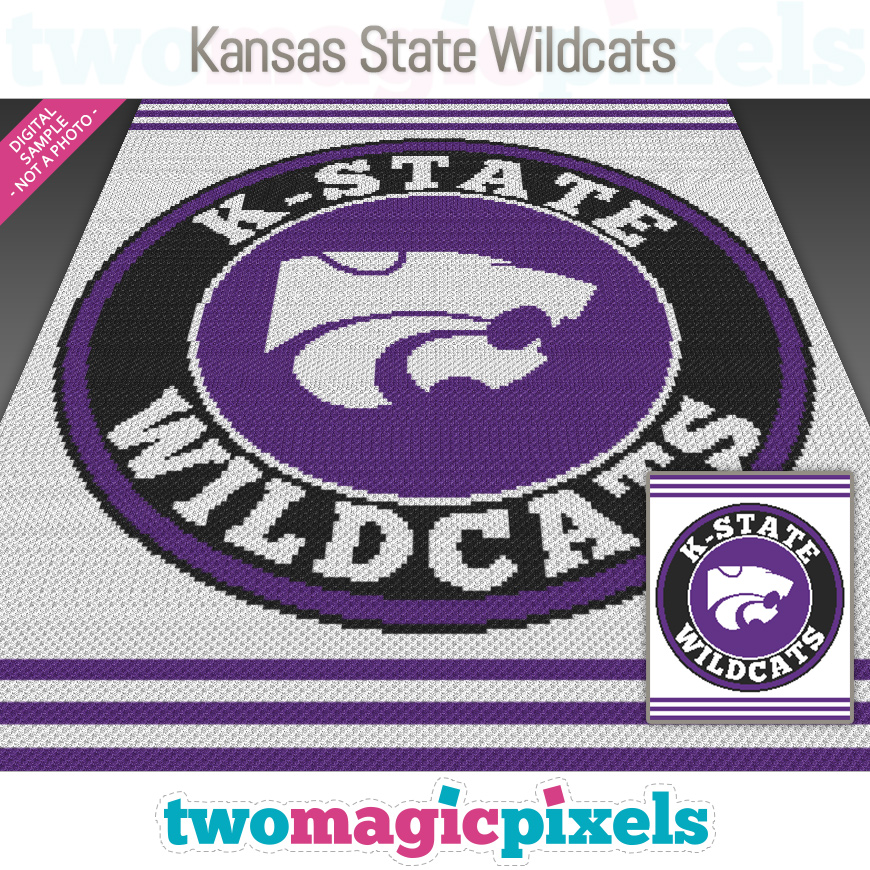 Kansas State Wildcats by Two Magic Pixels