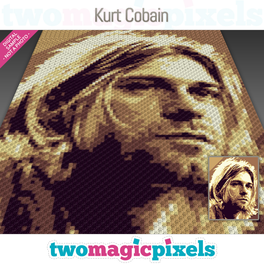Kurt Cobain by Two Magic Pixels
