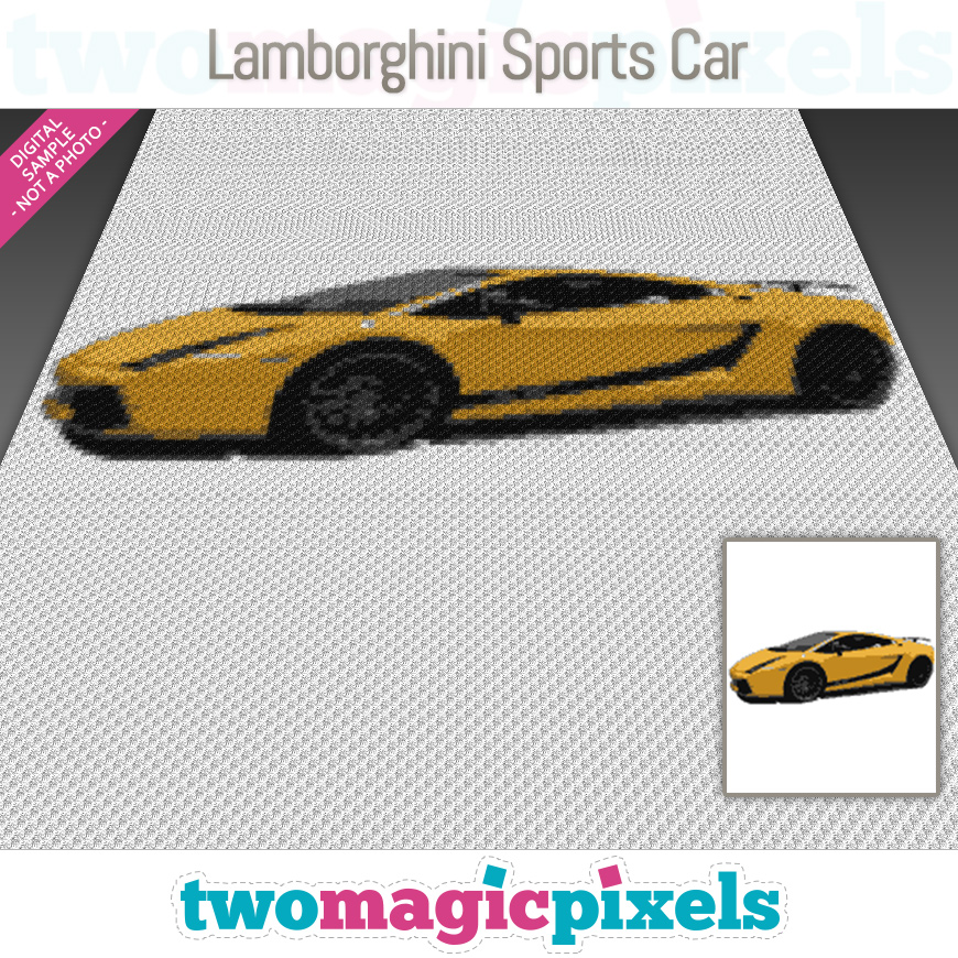 Lamborghini Sports Car by Two Magic Pixels