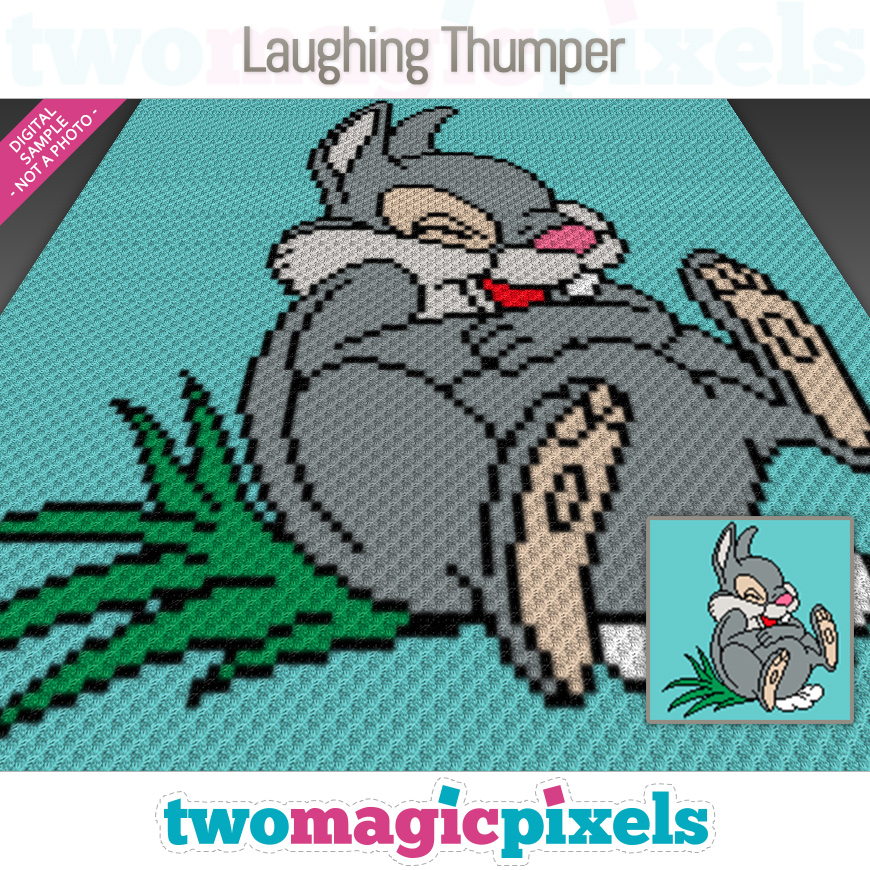 Laughing Thumper by Two Magic Pixels