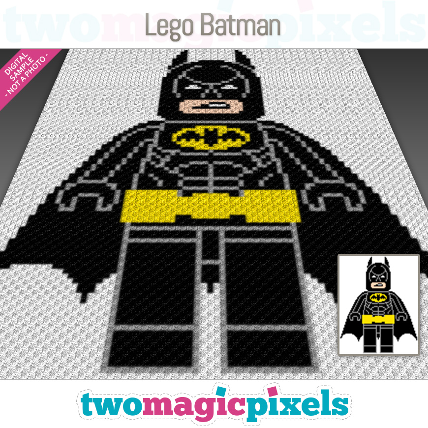 Lego Batman by Two Magic Pixels