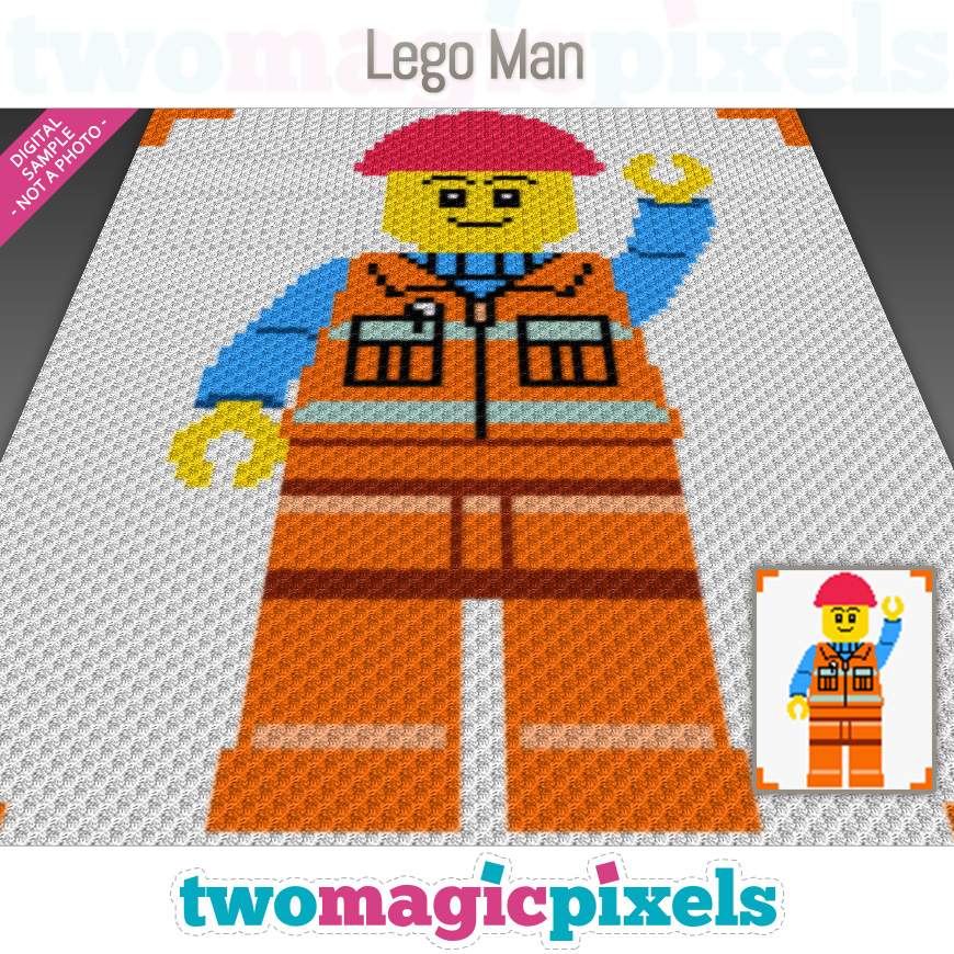 Lego Man by Two Magic Pixels