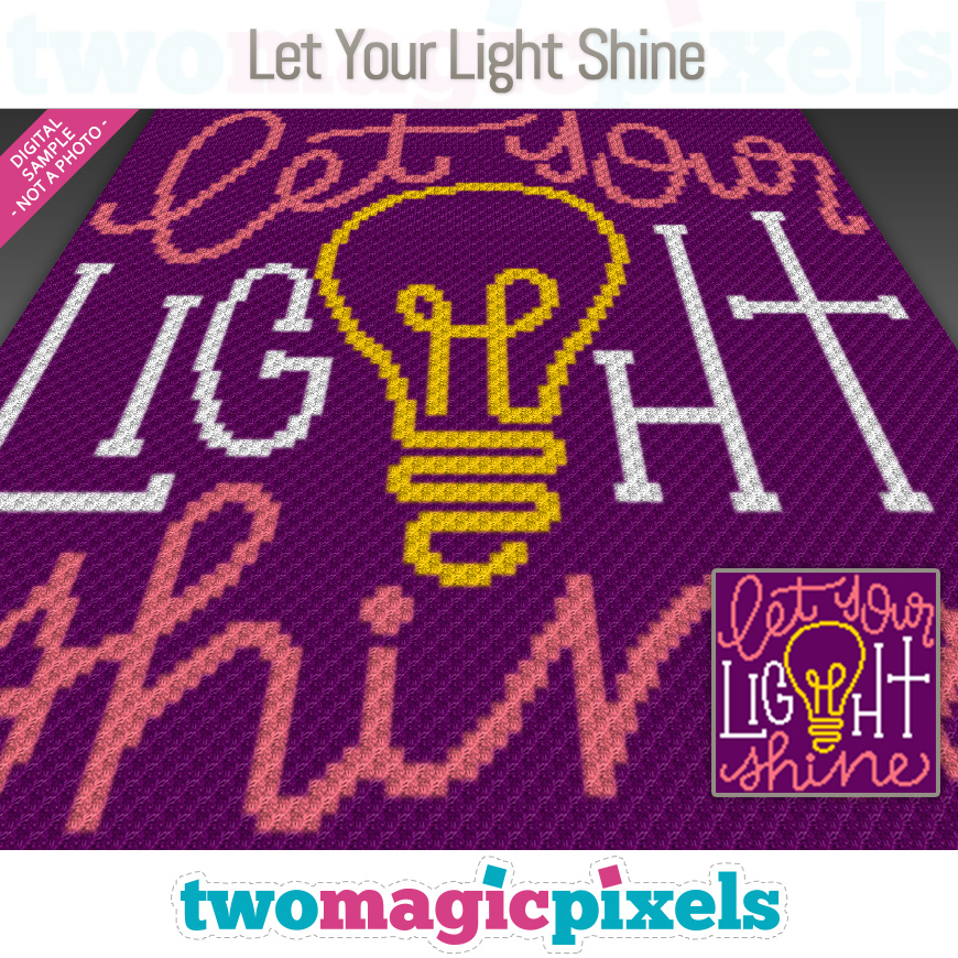 Let Your Light Shine by Two Magic Pixels